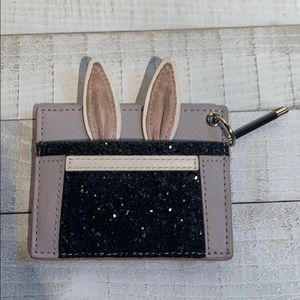 Kate spade make magic rabbit card holder